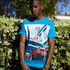 Apollo t-shirt in blue