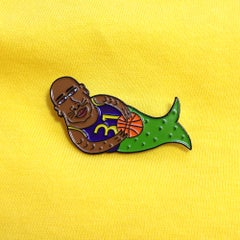 Mershaq Lapel Pin - Sick Animation Shop