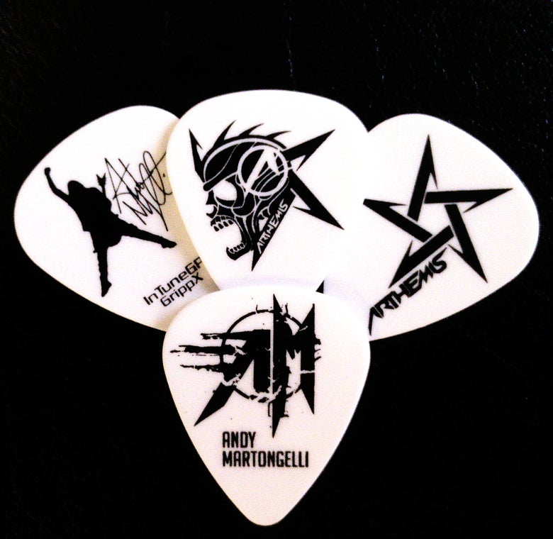 Image of Andy Martongelli Signature Guitar Picks Bundle