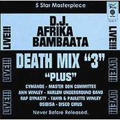 "Image of D.J. AFRIKA BAMBAATAA ""DEATH MIX ""3"" CD"