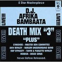 """Image of D.J. AFRIKA BAMBAATAA """"DEATH MIX """"3"""" CD"""