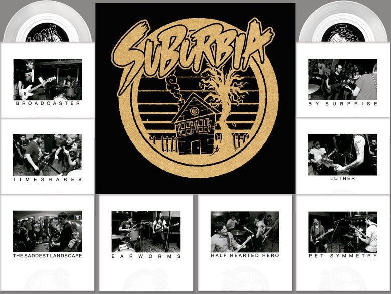 Image of Suburbia Box Set (Clear Vinyl Limited to 100)