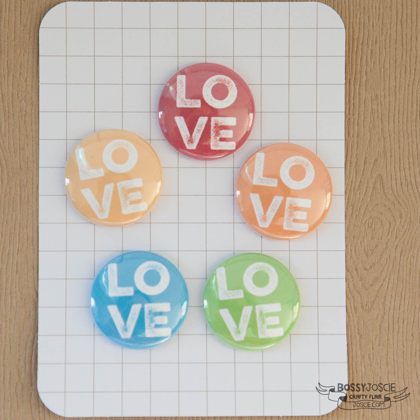 Image of Rainbow Love Flair