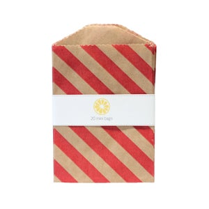 Image of Mini Red Stripe Bags