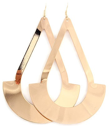 Image of FISH HOOK Earring in Gold