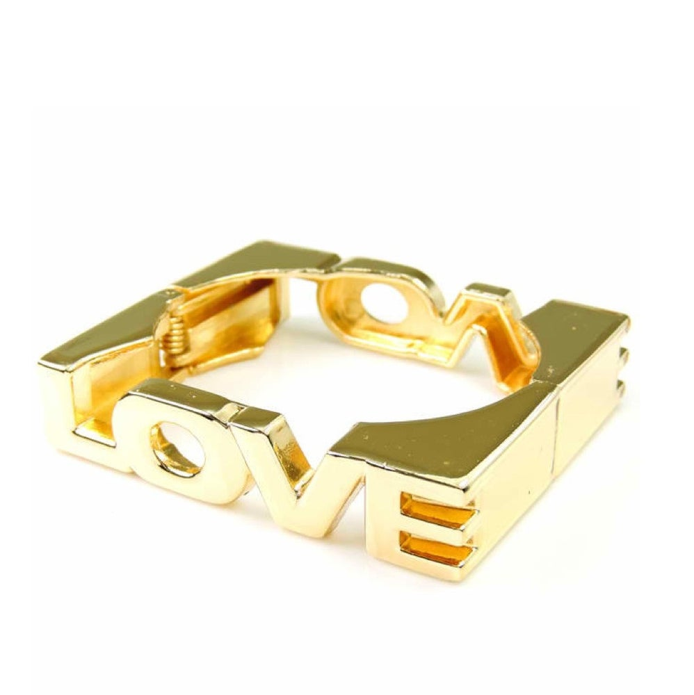Image of Love square bangle