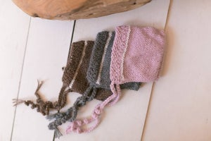 Image of Knit Simple Newborn Bonnet