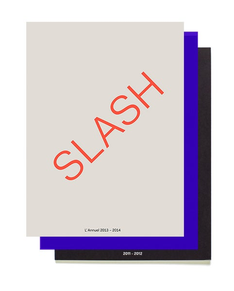Image of All Slash magazines n°3, n°2 & nº1