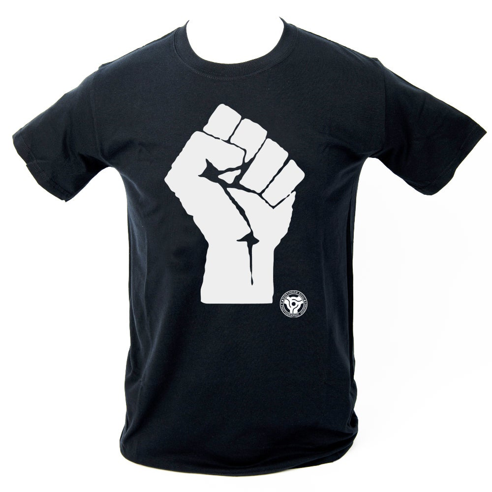 Image of 'Soul Fist' T-Shirt. BLACK
