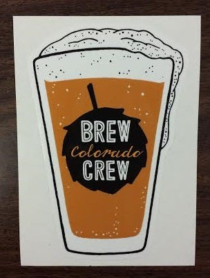 Image of Colorado Love Brew Crew Sticker