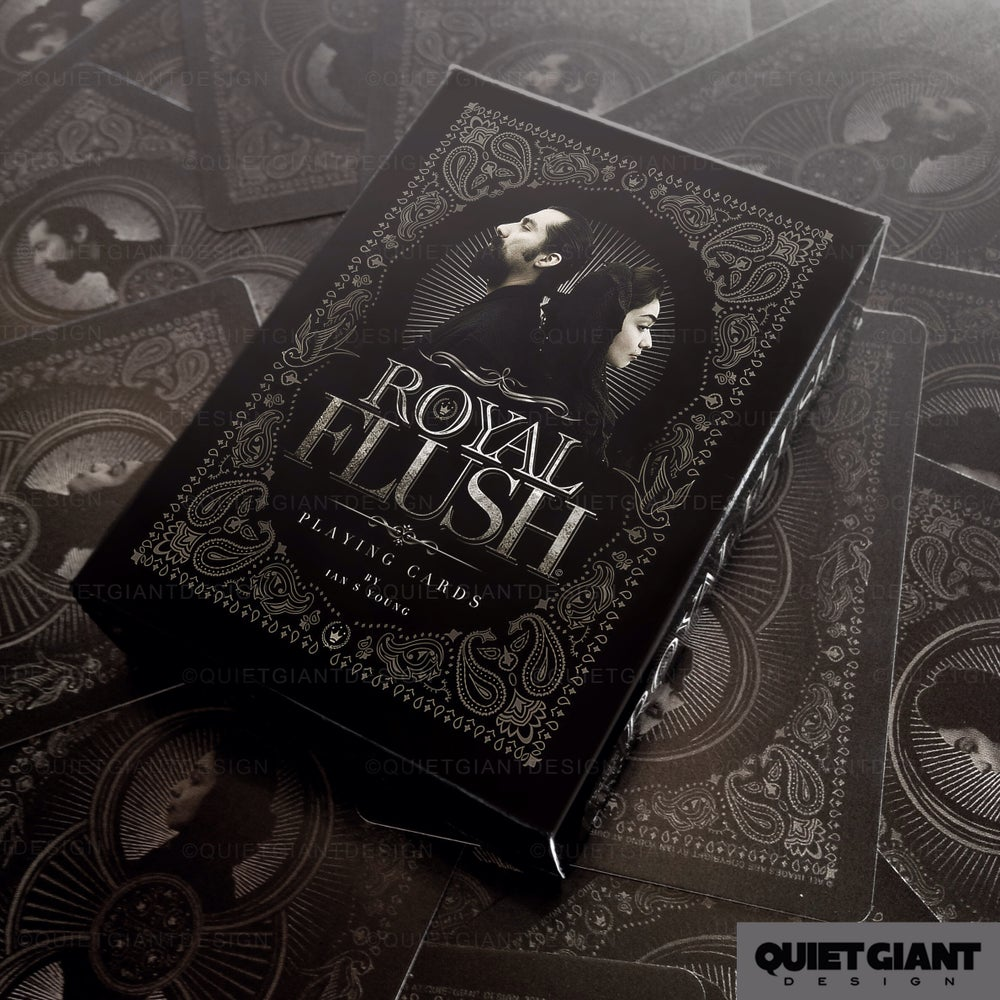 "Image of Limited Edition ""Royal Flush""  Playing Cards"