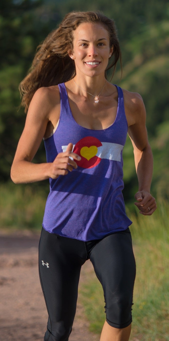 Image of Colorado Love Tank- Women's Orchid