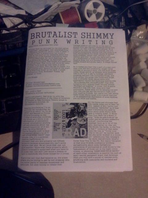 Image of BRUTALIST SHIMMY #3