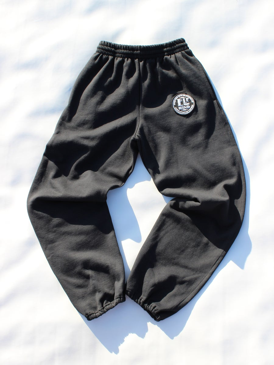 Image of ELEPHANT MIND PATCH SWEAT PANTS