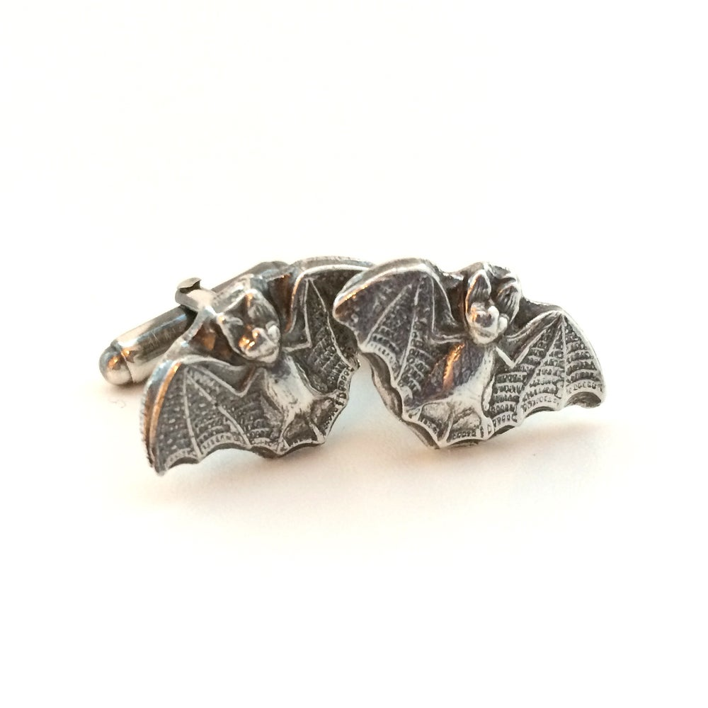 Image of Flying Bat Cuff Links
