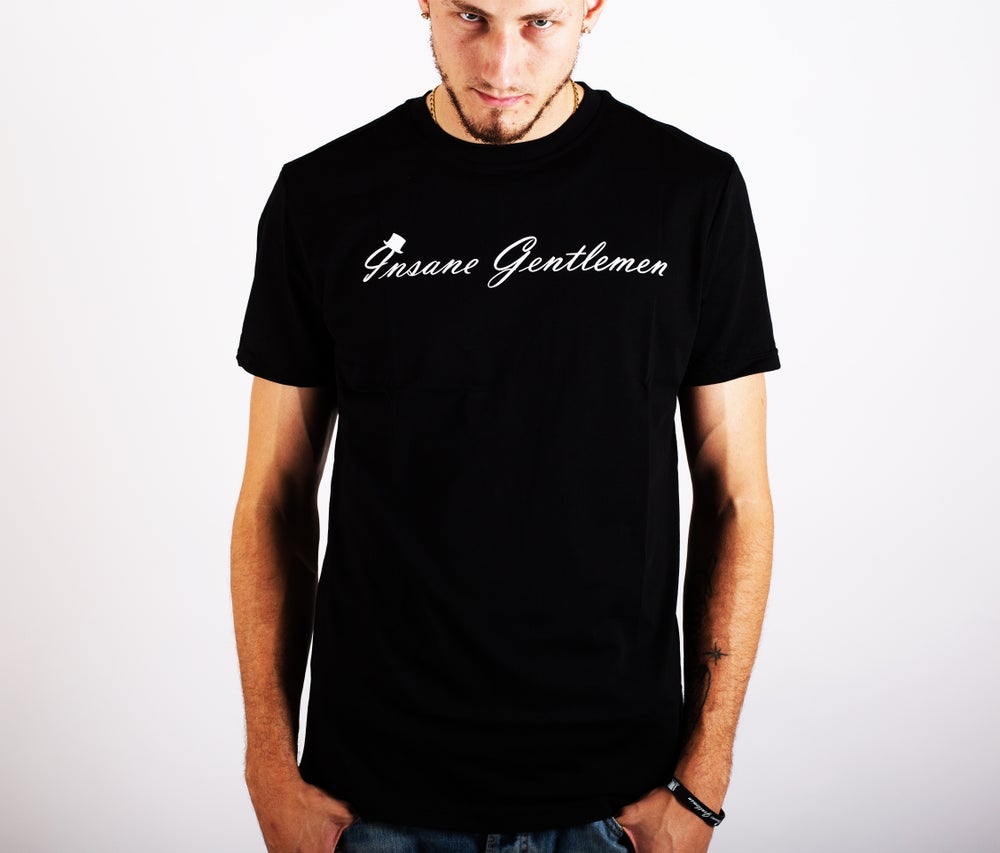 Image of Insane Gentlemen Original Tee Black
