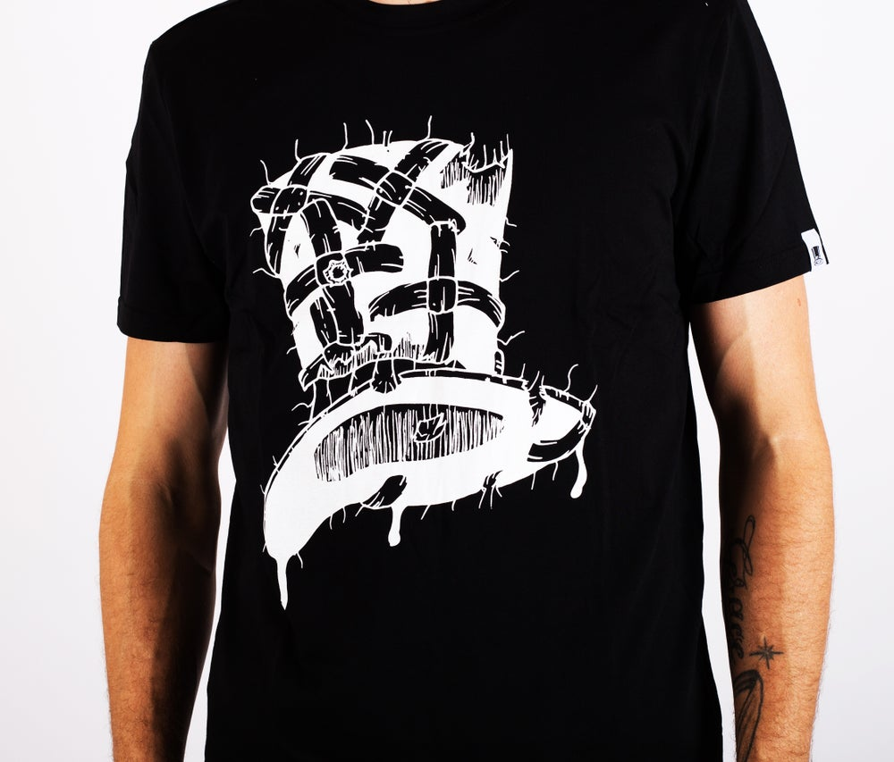 Image of Insane Gentlemen x ScientisTechni Tee Black