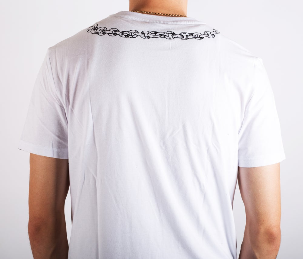 Image of Pocket Watch Tee White