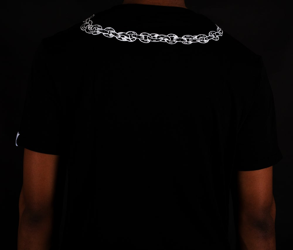 Image of Pocket Watch Tee Black