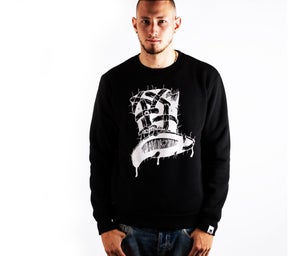 Image of Insane Gentlemen x ScientisTechni Jumper Black