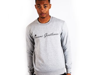 Image of Insane Gentlemen Original Jumper Grey