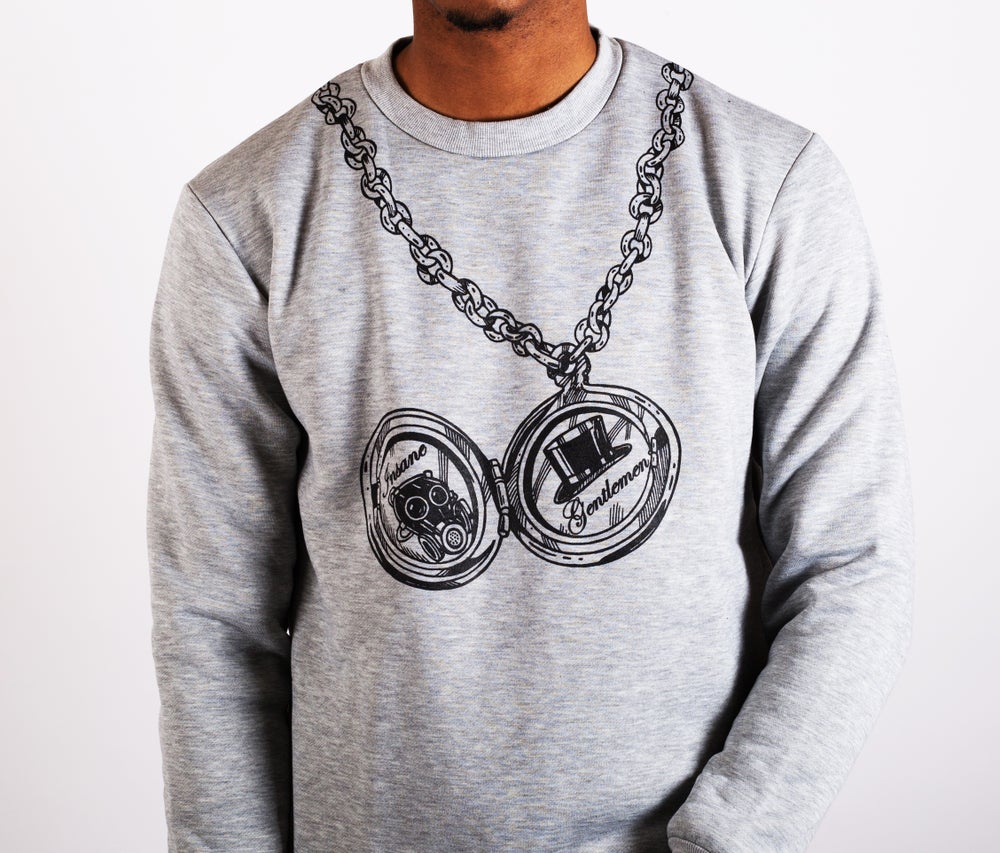 Image of Pocket Watch Jumper Grey
