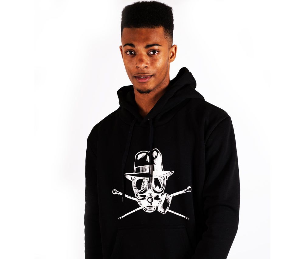 Image of Pirate Flag Hoodie Black
