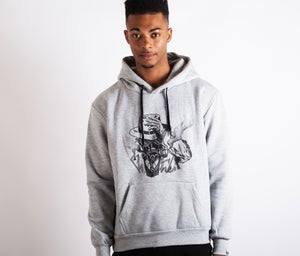 Image of Smoke Screen Hoodie Grey