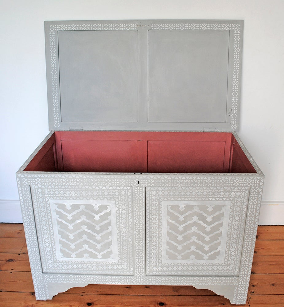Image of Darjeeling Stencilled Chest