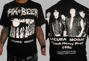 "Image of SIX BEER ""Locura Moral"" Oficial Shirt"