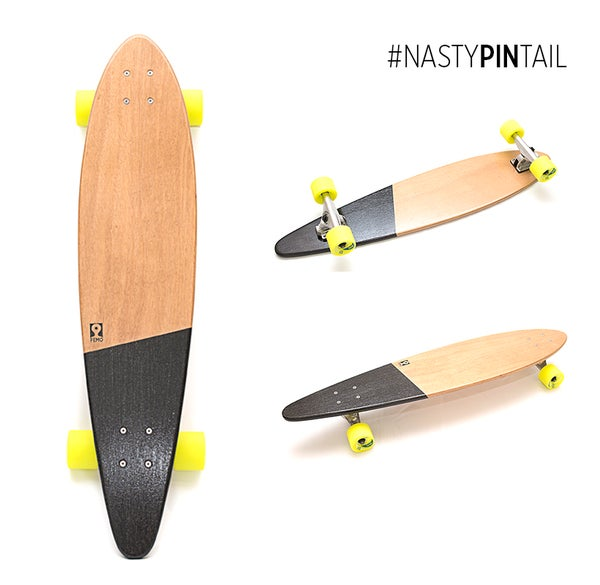 Image of Nasty Pin Tail - longskate #black