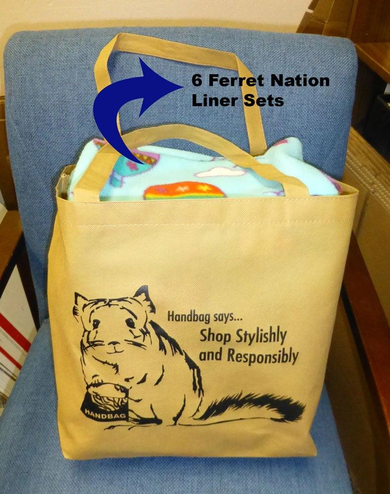 Image of Baggy Bag! Reusable Grocery Tote