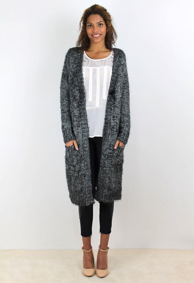 Image of MAXI CARDIGAN