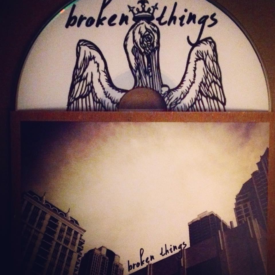 Image of Broken Things - Four Songs CD