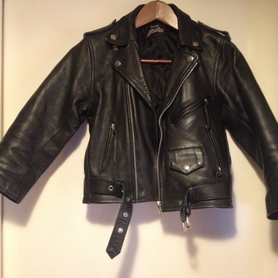 Image of My Black Leather Badass Perfecto