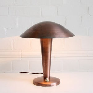Image of Copper Napako Mushroom Light