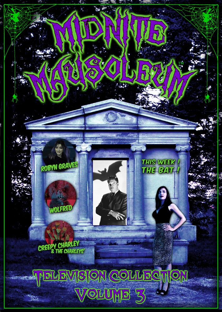 Image of *NEW* MIDNITE MAUSOLEUM TV Collection #3 DVD