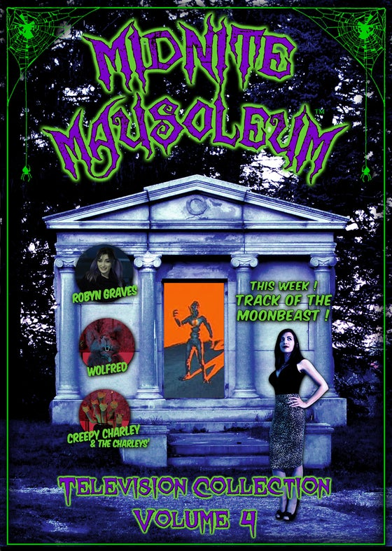 Image of *NEW* MIDNITE MAUSOLEUM TV Collection #4 DVD