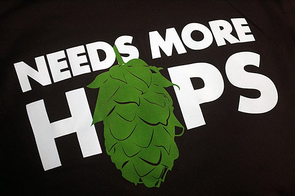 Image of Needs More Hops - Black T-Shirt