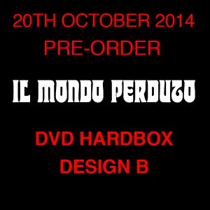 Image of IL MONDO PERDUTO DVD (Hardbox, Design B)