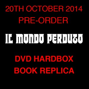 Image of IL MONDO PERDUTO DVD (Hardbox, Occult Book Replica, Limited 25)