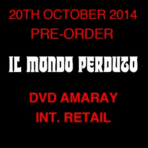 Image of IL MONDO PERDUTO DVD (Amaray, International Retail Edition)