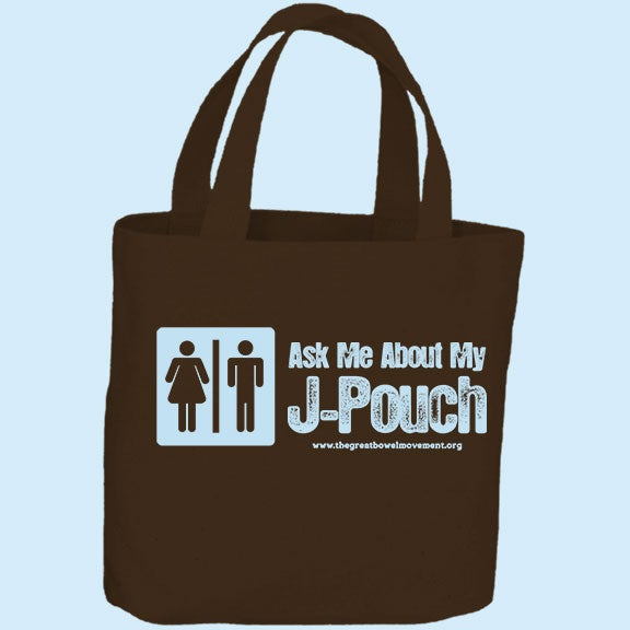 Image of Ask Me About My J-Pouch Tote Bag
