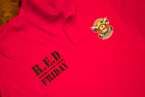 "Image of ""R.E.D Friday"" Polo Shirt"