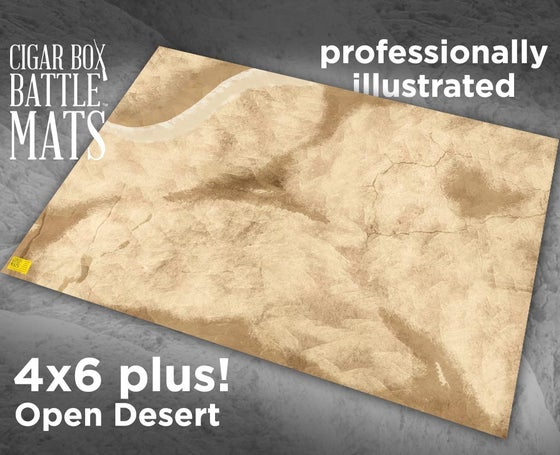 Image of Desert Gaming Battle Mat --  4'x6' plus  -- #120