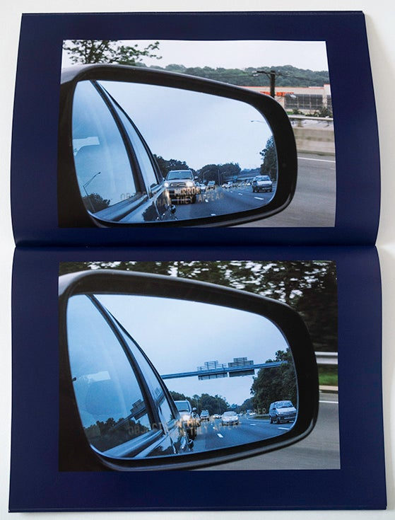 Image of OBJECTS IN MIRROR ARE CLOSER THAN THEY APPEAR