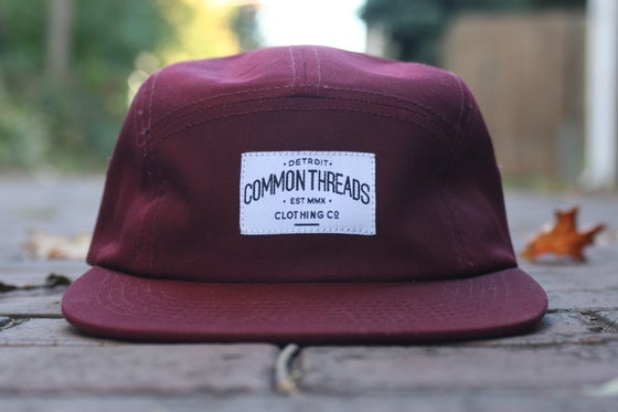 Image of Burgundy 5 Panel