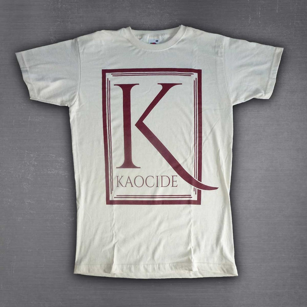 Image of Kaocide T-Shirt Natural White