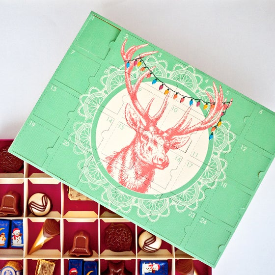 Image of Digital Download DIY Chocolate Advent Calendar