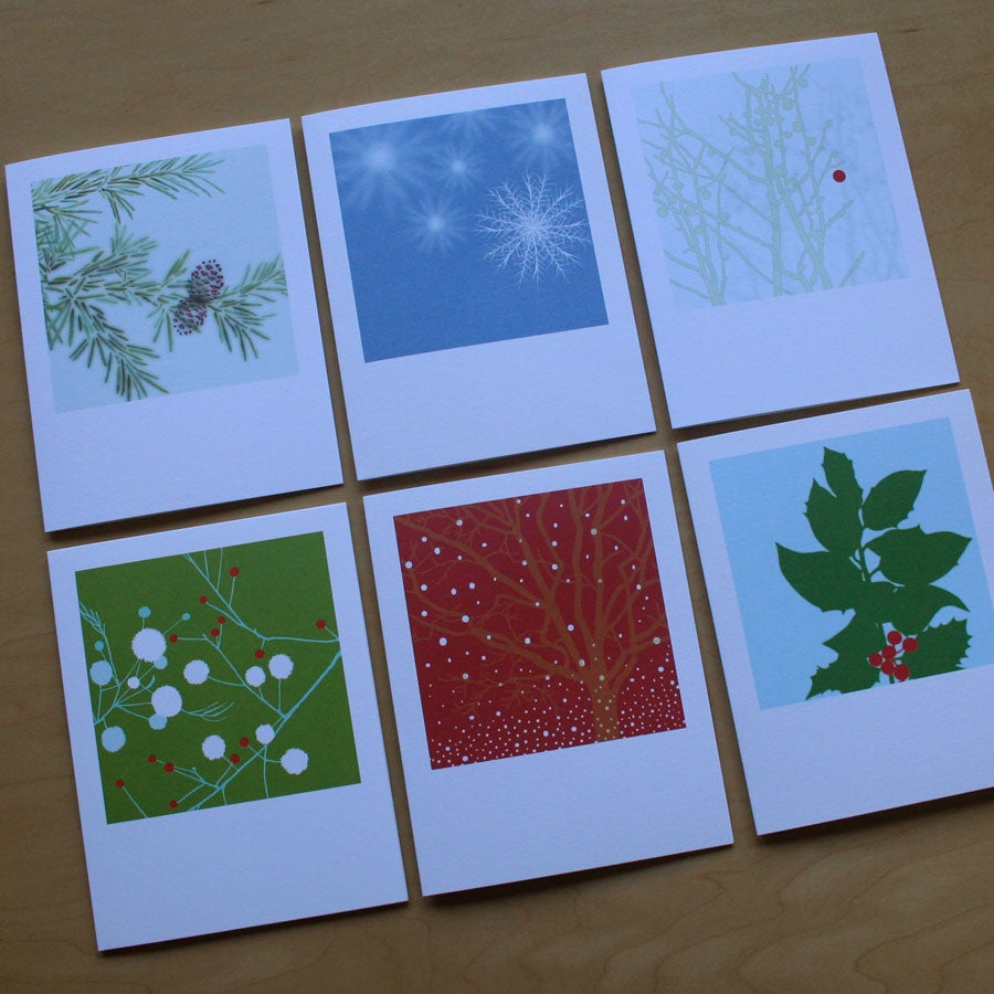 Image of Classic Card - Pack of 6 - Holiday